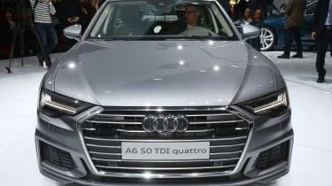 Audi A6 – front