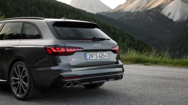 Audi S4 TDI review -  Avant boot