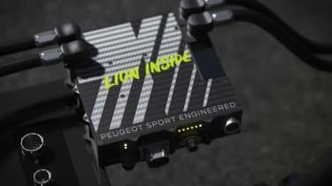 Peugeot Sport Hybrid4 500kW - battery