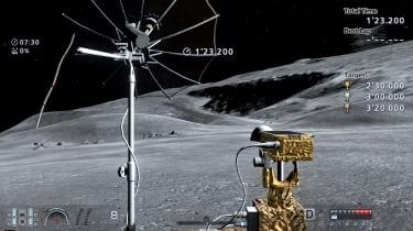Gran Turismo 6 Lunar Rover on moon