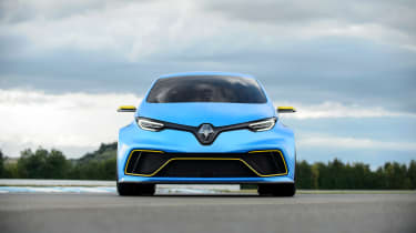 Renault Zoe E-Sport - front