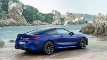 BMW M8 Competition - rear quarter