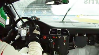 Chris Harris Porsche Carrera Cup