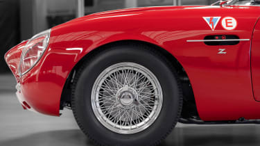 Aston Martin DB4 Zagato continuation - wheel