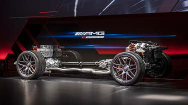 Mercedes-AMG GT73 powertrain