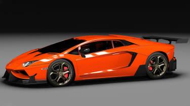 Lamborghini Aventador tuned by DMC