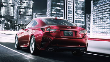 Lexus RC Coupe details and pictures