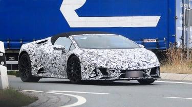 Lamborghini Huracan fl - front quater