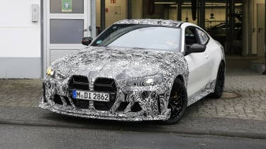 BMW M4 CSL spy 2021 – 6