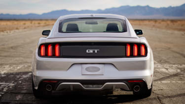 2014 Ford Mustang rear