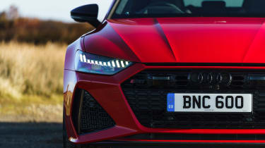Audi RS7 red - nose