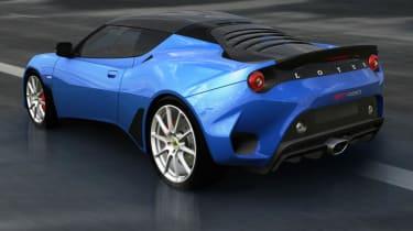 Lotus Evora GT430 Sport rear