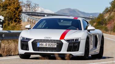 Audi R8 RWS - front