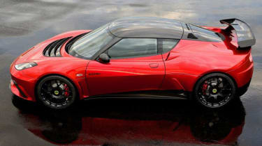 Lotus Evora GTE Swizz Beatz edition