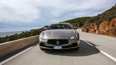 Maserati Ghibli 2016 - grey front