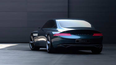 Genesis X Concept - rear quarter