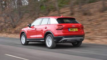 Audi Q2 SE - rear quarter
