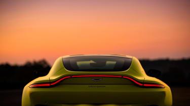 Aston Martin Vantage - green static rear