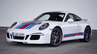 Porsche 911 Martini Racing Edition white
