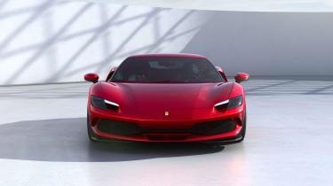 2022 Ferrari 296 GTB – nose