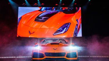 Chevrolet Corvette ZR1 convertible – front
