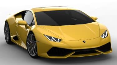 Lamborghini Huracan LP610-4 front view