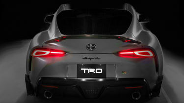 Toyota Supra TRD parts - tail
