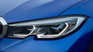 BMW 3-series G20 revealed - M Sport lights