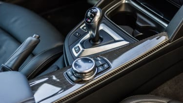 BMW M4 DCT gear stick