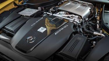 Mercedes-AMG GT C Roadster - engine