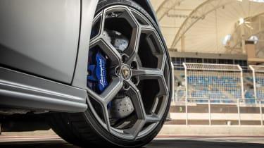 Lamborghini Huracan EVO silver - wheels