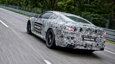 BMW M8 prototype - driving rear 2