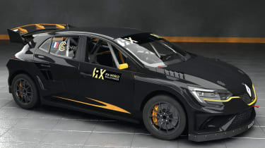 Prodrive Megane Supercar WRX - front three quarter