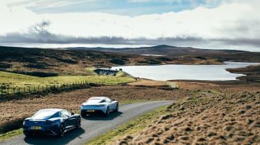 Aston Martin DB11 & Vanquish S - rears