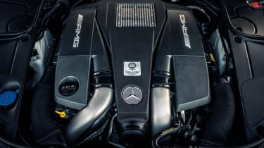 Mercedes-Benz S-class – engine