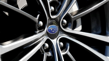 Subaru BRZ group test alloy wheel