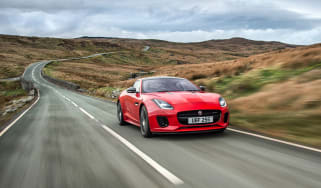 Jaguar F-Type four-cylinder - front tracking