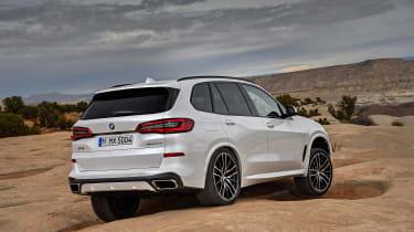 2018 BMW X5 - rear quarter
