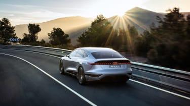 Audi A6 e-tron Concept - rear tracking