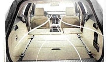 Jaguar XF Sportbrake estate bootspace