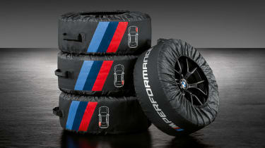 BMW M Performance parts wheel covers