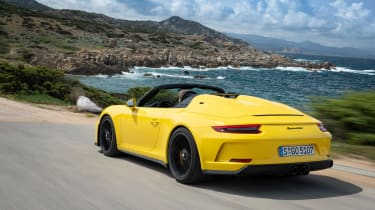 991.2 Porsche 911 Speedster - rear quarter
