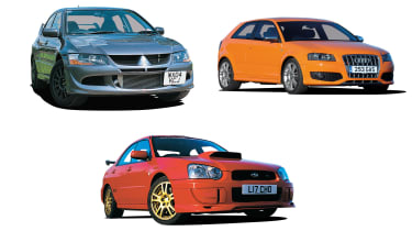 All-wheel-drive performance cars - header