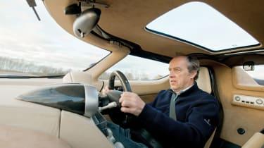 Harry Metcalfe drives Koenigsegg CC8S