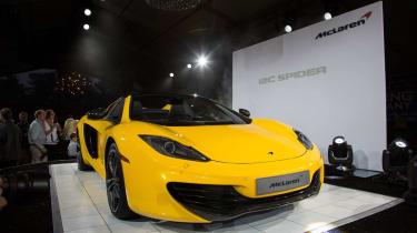McLaren unveils 12C Spider at Pebble Beach