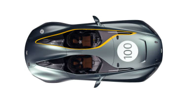Aston Martin CC100 top view