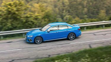 Audi S4 TDI review - side