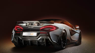 McLaren 600LT revealed - rear