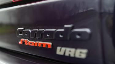 Volkswagen Corrado VR6 badge