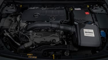 Brabus-tuned A-Class engine